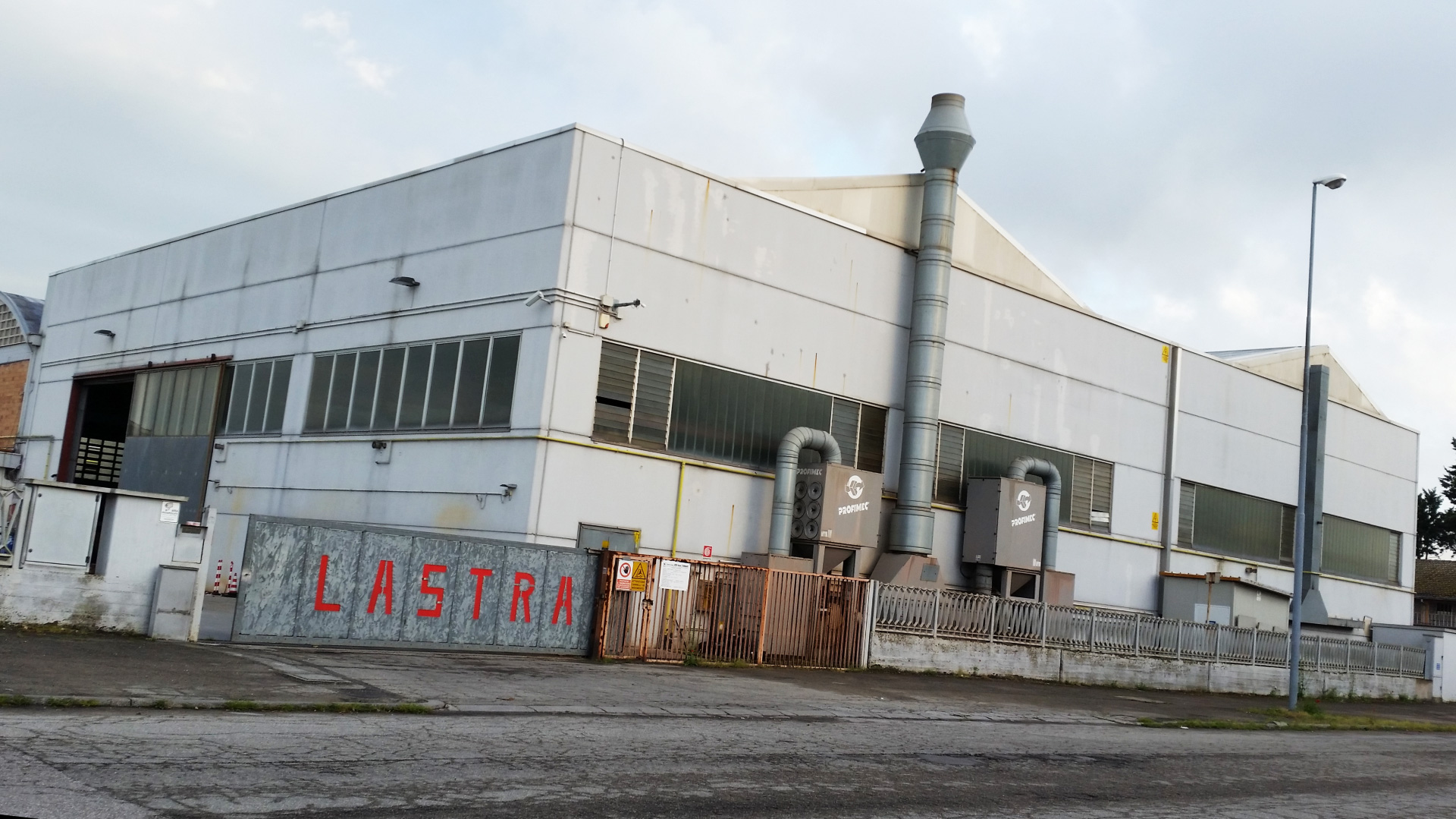 Lastra - Sede produttiva Ravenna (Zona Bassette)